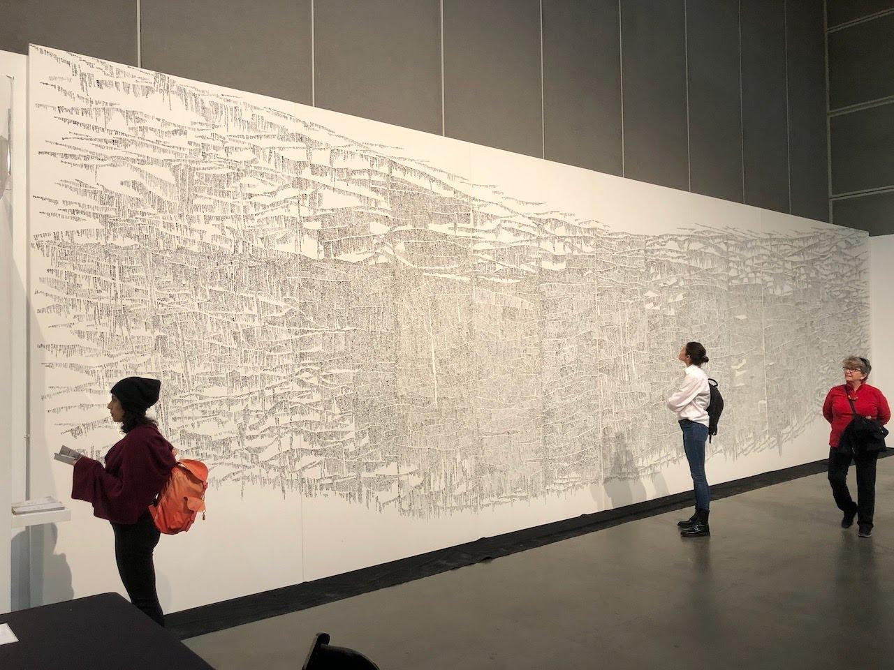 LA Art Show 2020  千葉蒼玄 特別展示:ライブパフォーマンス ロサンゼルス / アメリカ